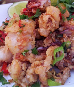 Brazen Salt and Pepper Squid