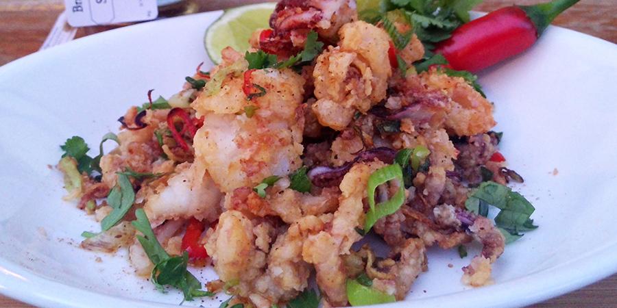 Brazen Salt and Pepper Squid